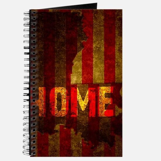 LOUISIANA HOME vintage one Journal