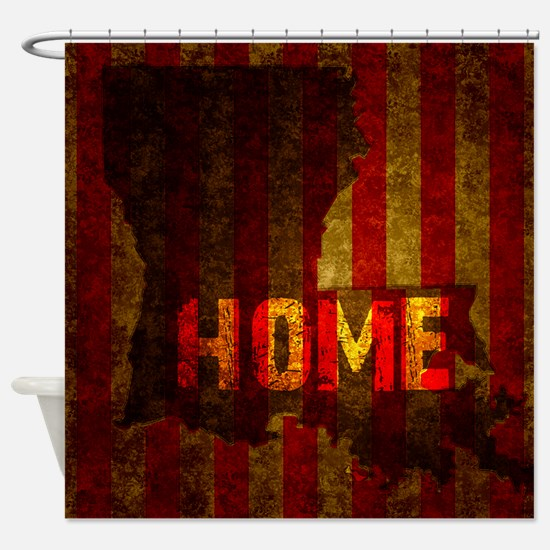 LOUISIANA HOME vintage one Shower Curtain