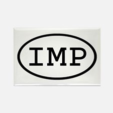 IMP Oval Rectangle Magnet