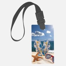 Summer Beach Vacation Luggage Tag