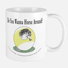 Horse Around 9 Ball Billiards Mug