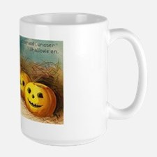 Pumpkin Row Large Mug
