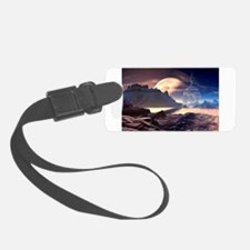 Alien Planet Luggage Tag