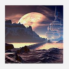 Alien Planet Tile Coaster