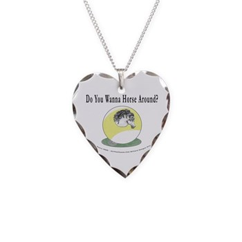 Do You Wanna Horse Around 9 Ball Billiards Necklace