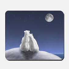 Polar Bears by Moonlight Mousepad