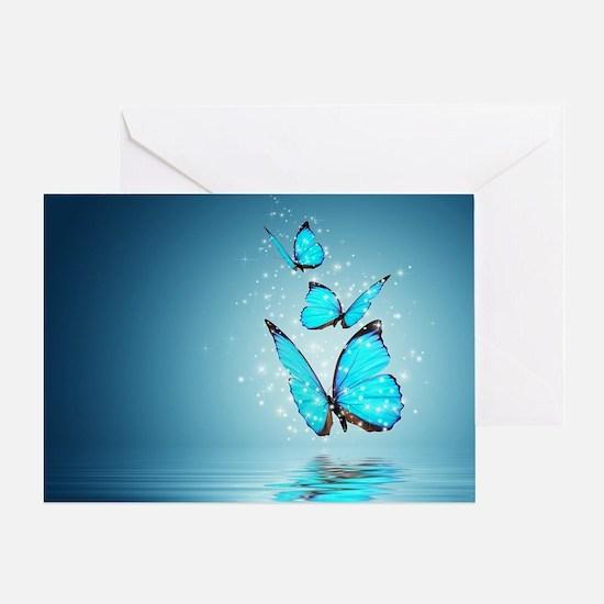 Magic Butterflies Greeting Card