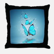 Magic Butterflies Throw Pillow