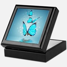 Magic Butterflies Keepsake Box