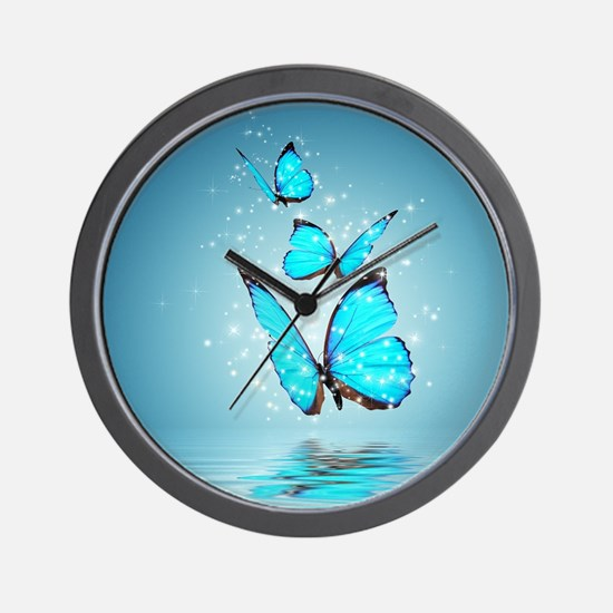 Butterfly Clocks | Butterfly Wall Clocks