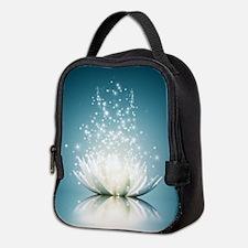 White Lotus Magic Neoprene Lunch Bag