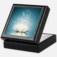 White Lotus Magic Keepsake Box