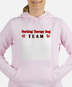Cute Therapy dogs Women's Hooded Sweatshirt
