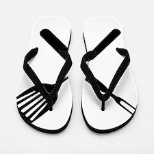bbq cross Flip Flops
