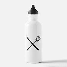 bbq cross Water Bottle