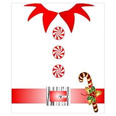 funny christmas elf Poster
