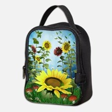 Sunflowers Neoprene Lunch Bag