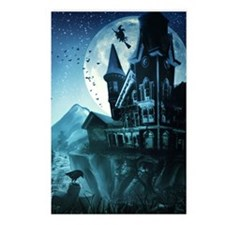 Haunted Mansion Postcards (Package of 8)