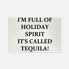 TEQUILA! Rectangle Magnet