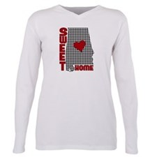 Sweet Home Alabama Plus Size Long Sleeve Tee