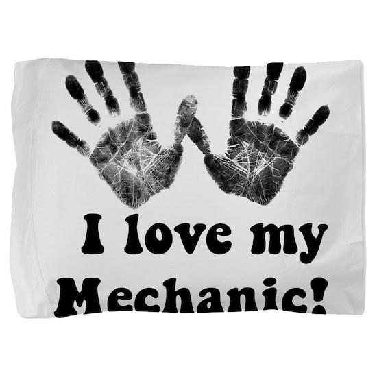 mechanic love.png Pillow Sham