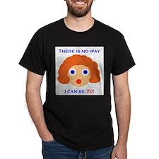 Cute 70 year old birthday T-Shirt