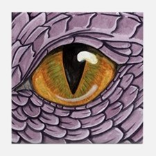 Funny Dragon eye Tile Coaster