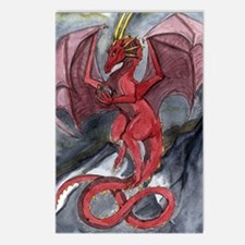 Funny Dragon lovers Postcards (Package of 8)