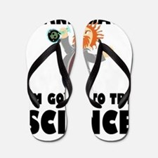 Stand Back I'm Going To Try Science Flip Flops