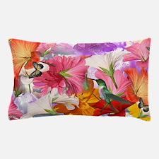 Hibiscus Butterflies Pillow Case