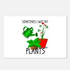 Sometimes I Wet My Plants Postcards (Package of 8)