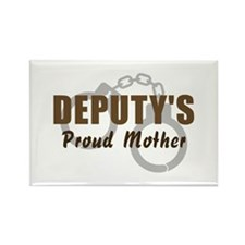 Deputy's Proud Mother Rectangle Magnet