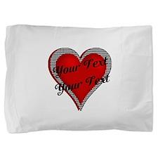 Crimson Heart Pillow Sham