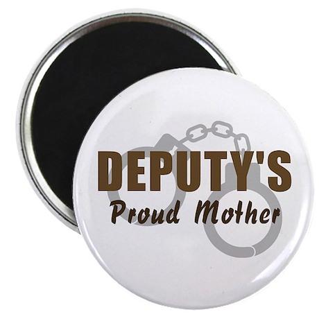 Deputy's Proud Mother Magnet