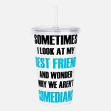 Sometimes I Look At My Acrylic Double-wall Tumbler