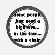 Some people just need a high five...in Wall Clock