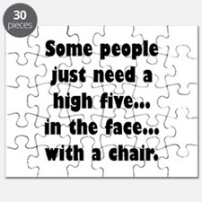 Some people just need a high five...in the Puzzle
