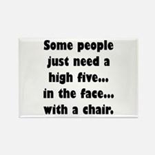 Some people just need a high five...in the Magnets