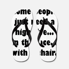 Some people just need a high five...in Flip Flops
