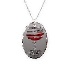 Weird Wine Glass Necklace