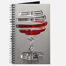 Weird Wine Glass Journal