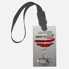 Weird Wine Glass Luggage Tag