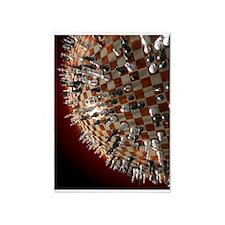 Global Chess Game 5'x7'Area Rug