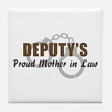 Deputy's Proud MIL Tile Coaster