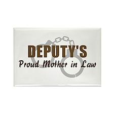 Deputy's Proud MIL Rectangle Magnet