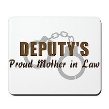 Deputy's Proud MIL Mousepad