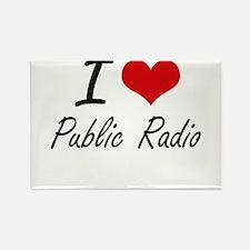 I love Public Radio Magnets