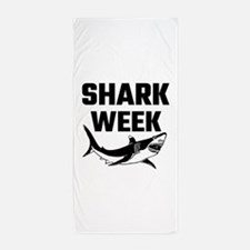 Shark Week Beach Towel