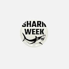 Shark Week Mini Button