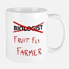 Biology Humor - Fruit Fly Farmer Mugs